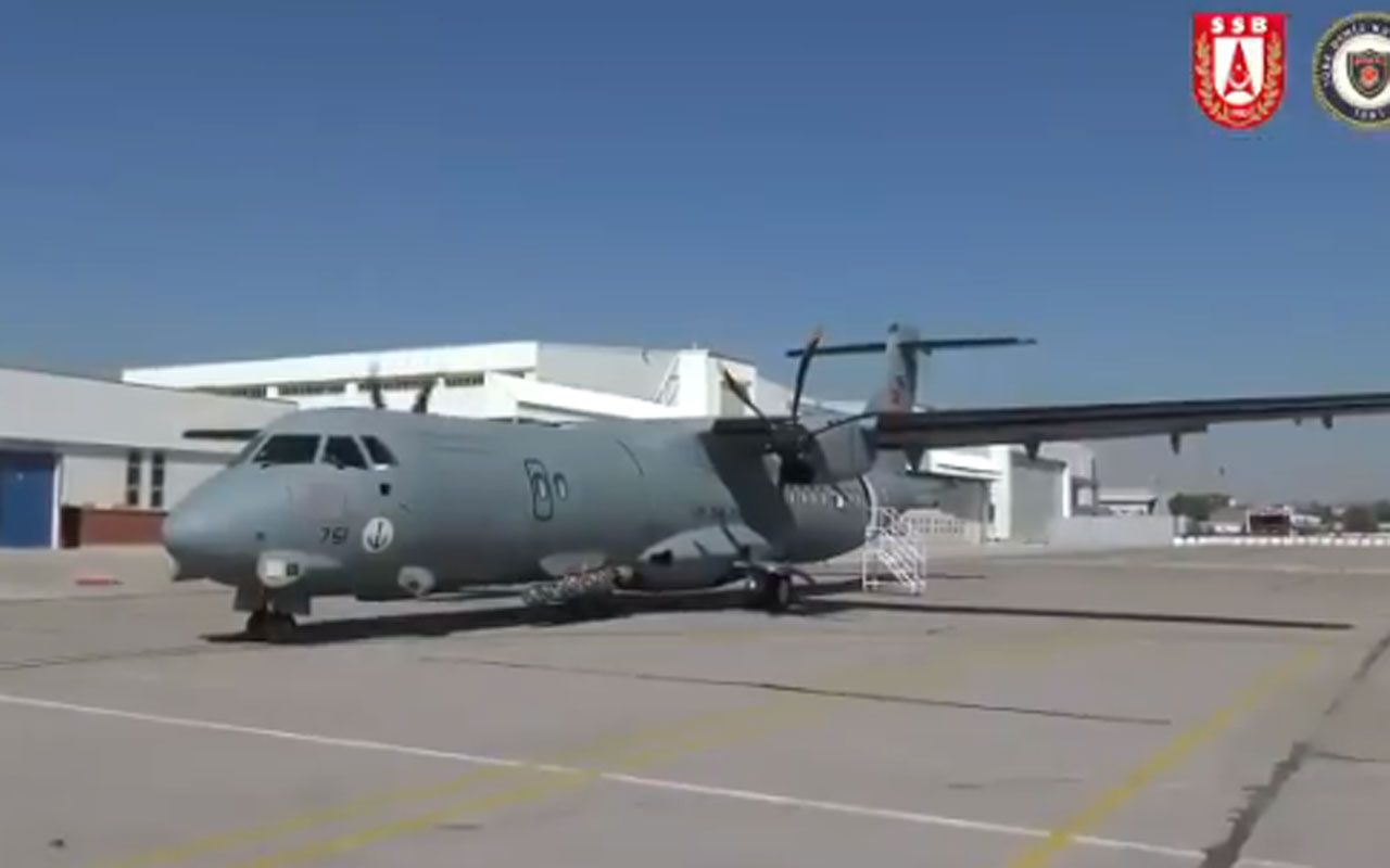 2'nci P-72 Deniz Karakol Uçağı Deniz Kuvvetleri Komutanlığı'na teslim edildi
