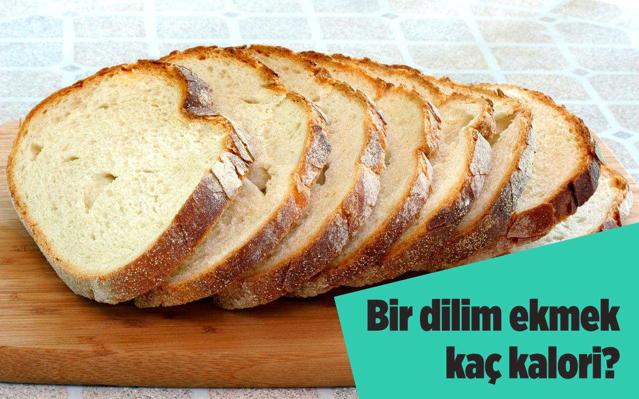 1 dilim ekmek kaç kalori? Beslenme alışkanlığını değiştirecek ekmek kalorileri