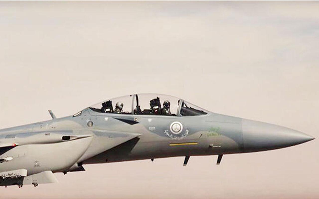 Suudi Arabistan askeri uçakları Yunanistan'a askeri tatbikat yapmaya gidiyor