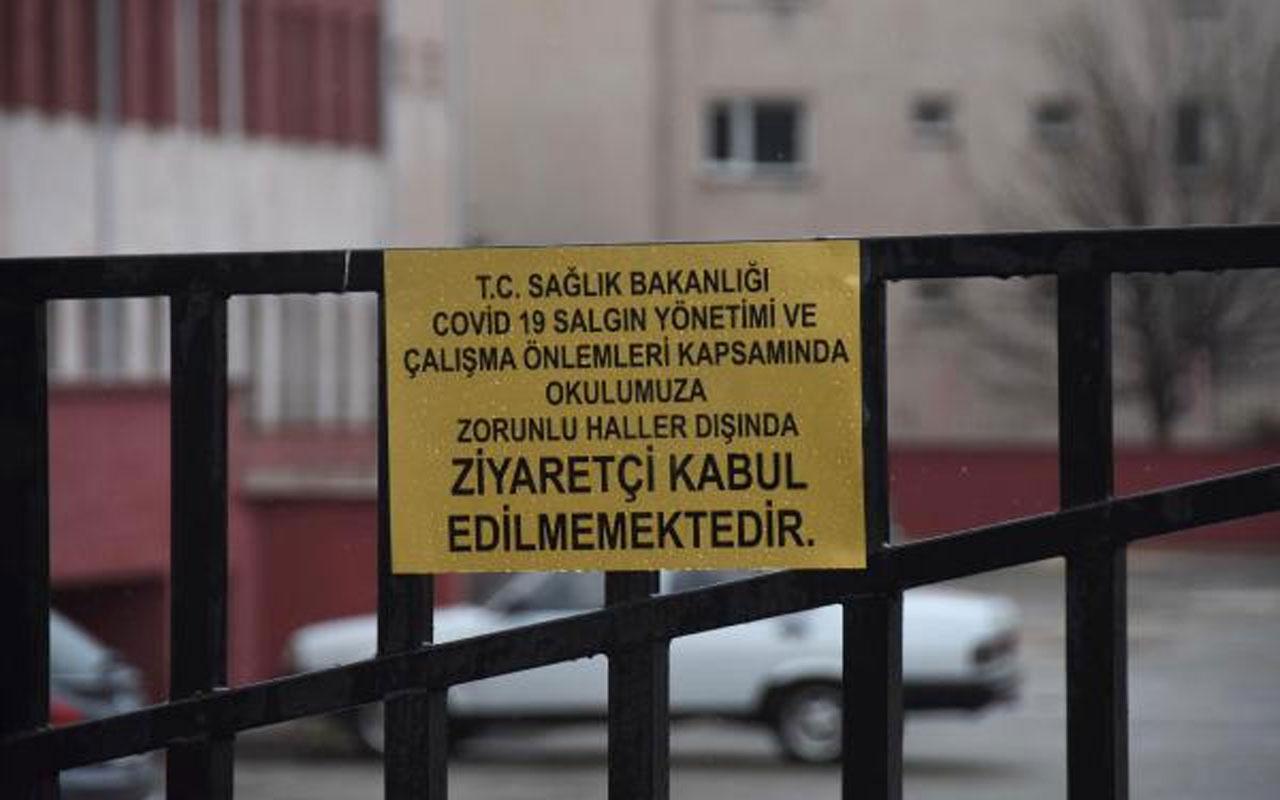 Eskişehir'de Covid-19 alarmı! Öğretmenin testi pozitif çıktı 34 öğrenci karantinaya alındı