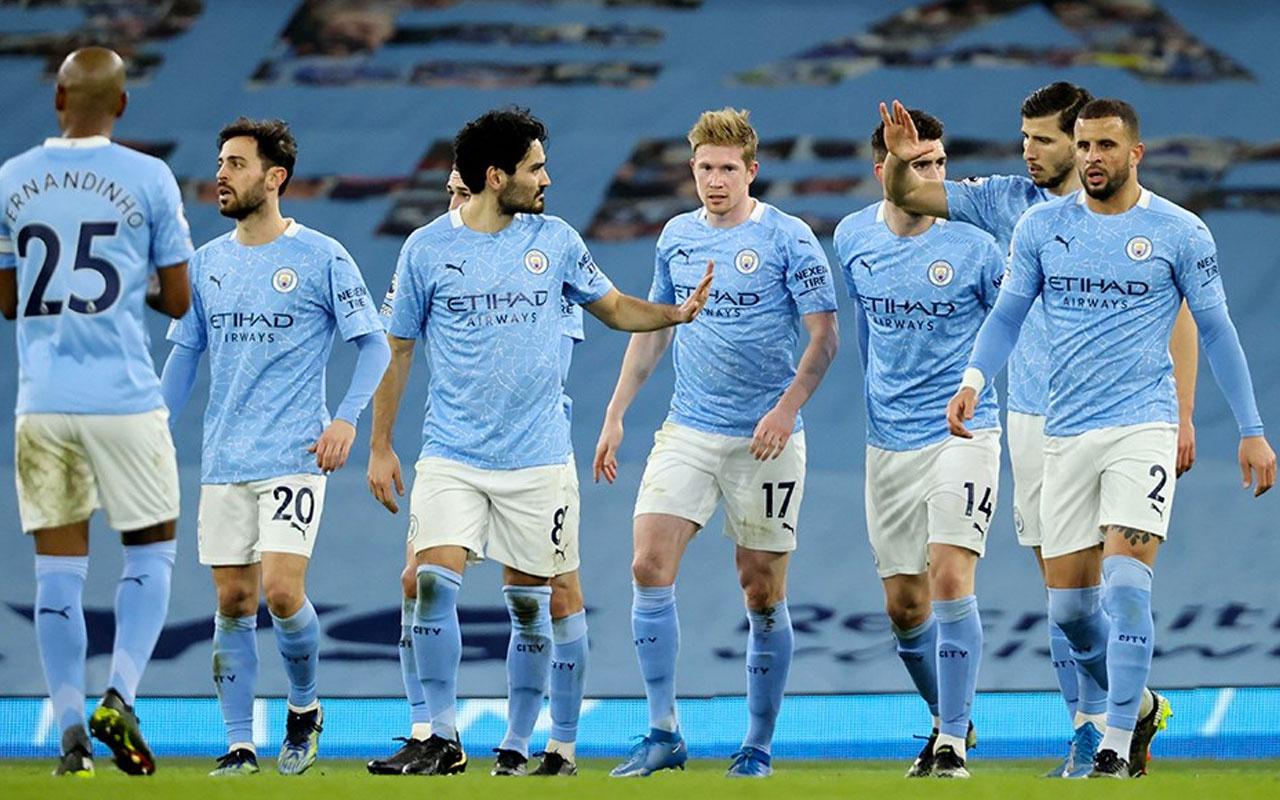 Lider Manchester City gol oldu yağdı