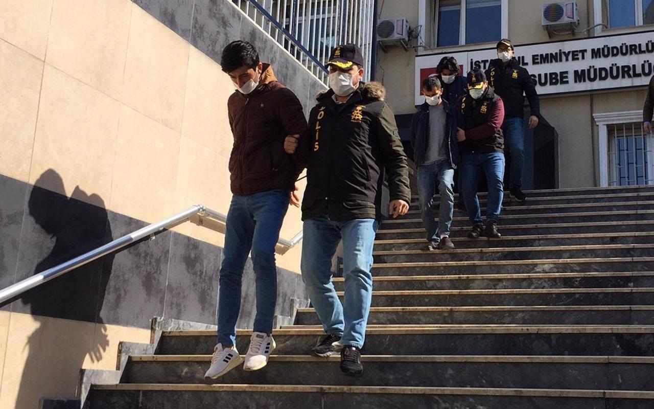 İstanbul'da yaşlı kadını 1 milyon TL dolandıranlara suçüstü