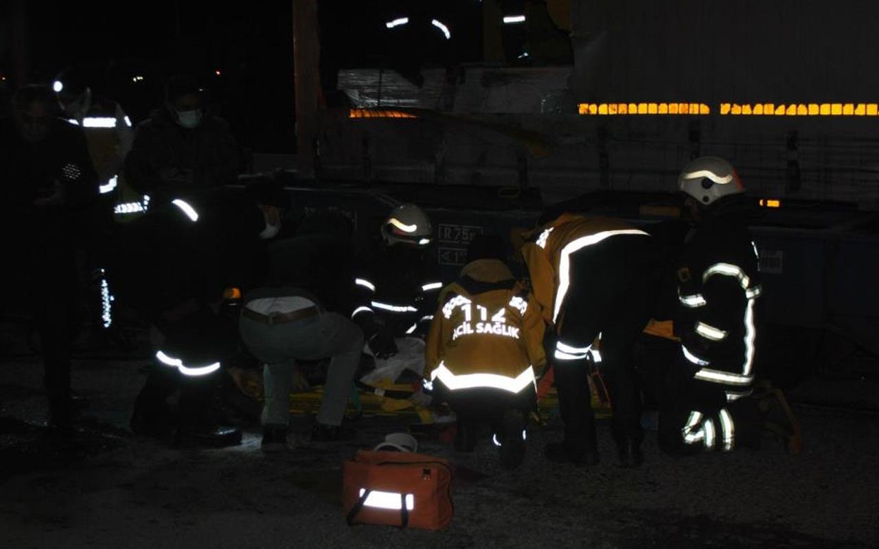 Tekirdağ'da Bulgaristan'a kaçmak isteyen 2 mülteci tren istasyonunda akıma kapıldı