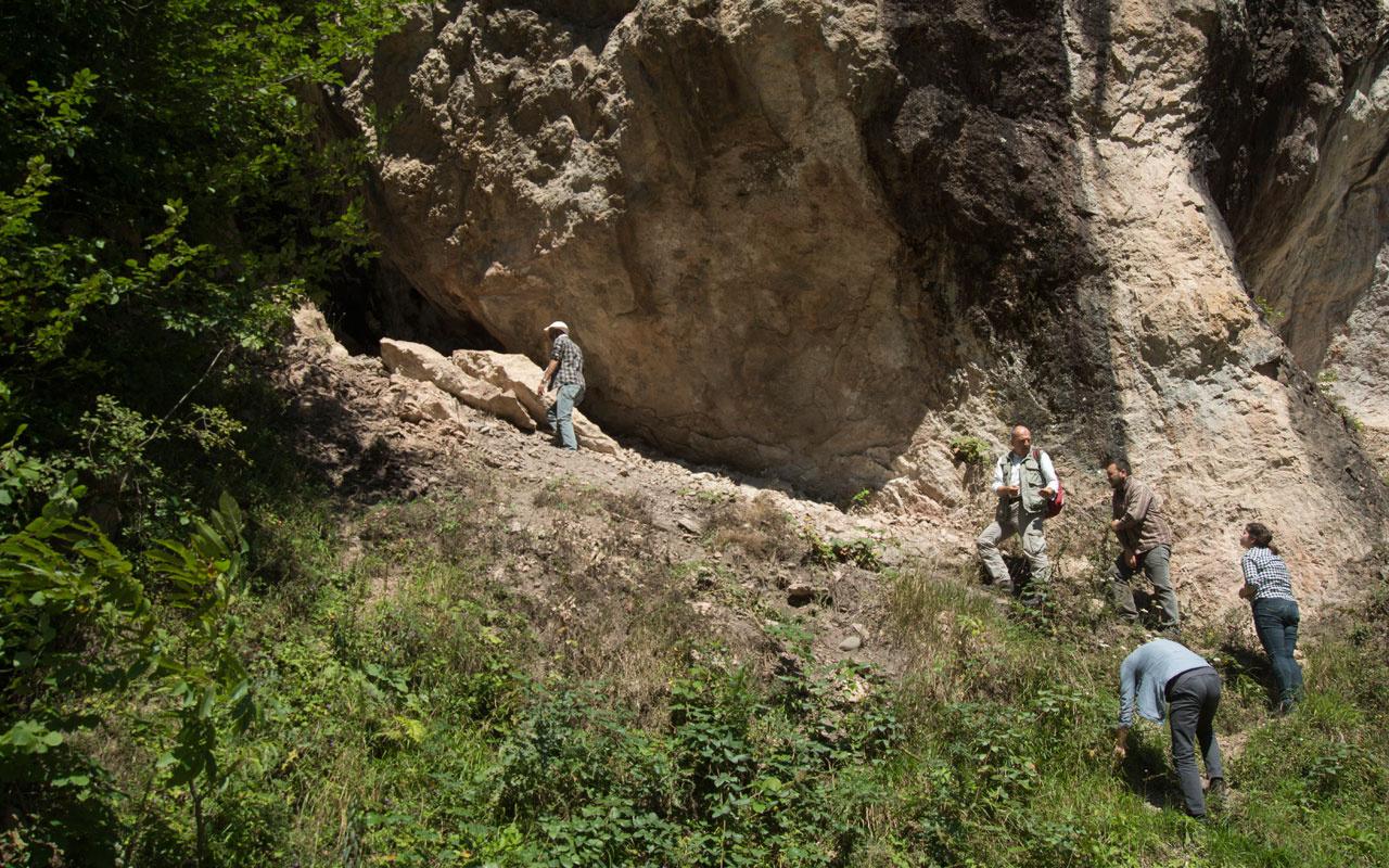 Trabzon'un tarihini değiştiren keşif! Mağarada buldular