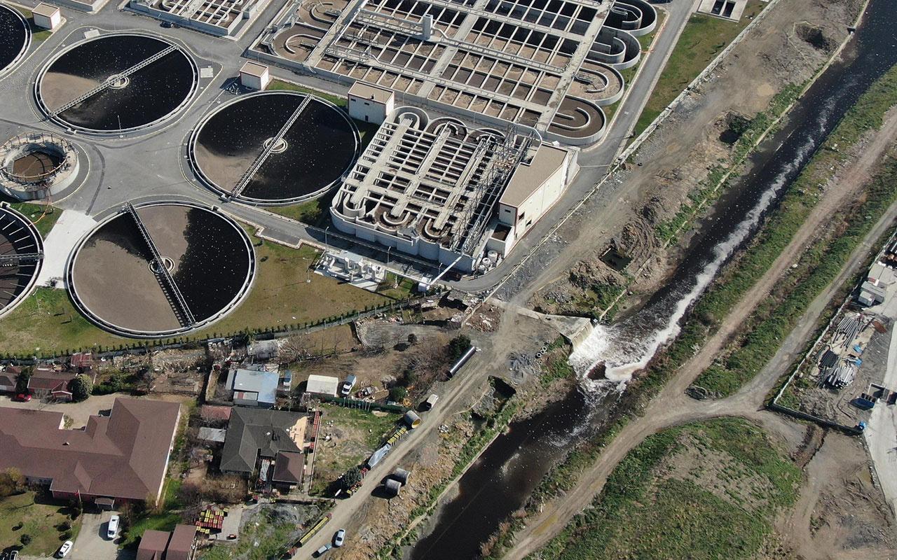 İstanbul'da arıtma rezaleti! İSKİ'nin arıtma tesisi Ayamama deresini karattı
