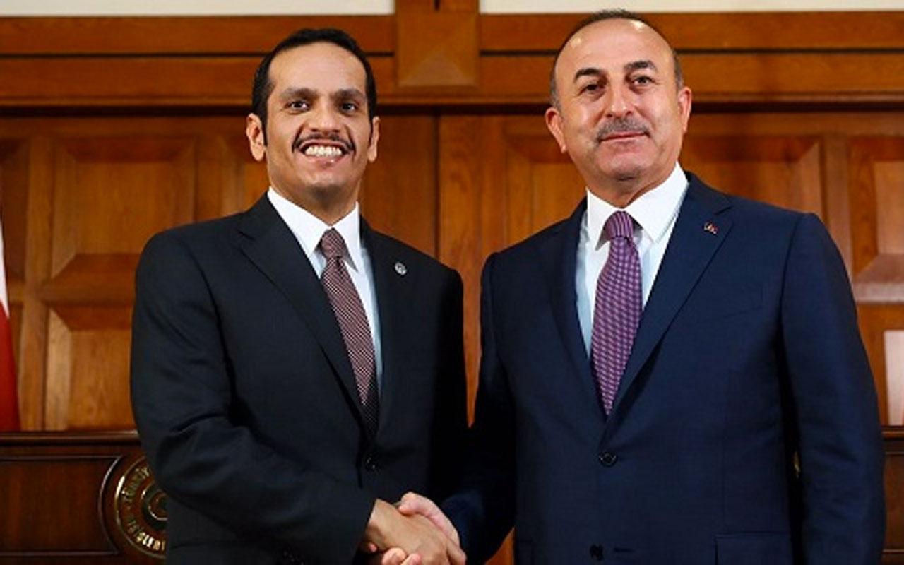 Katar Dışişleri Bakanı'ndan Türkiye açıklaması: Güçlü bir ortaklık ilişkimiz var