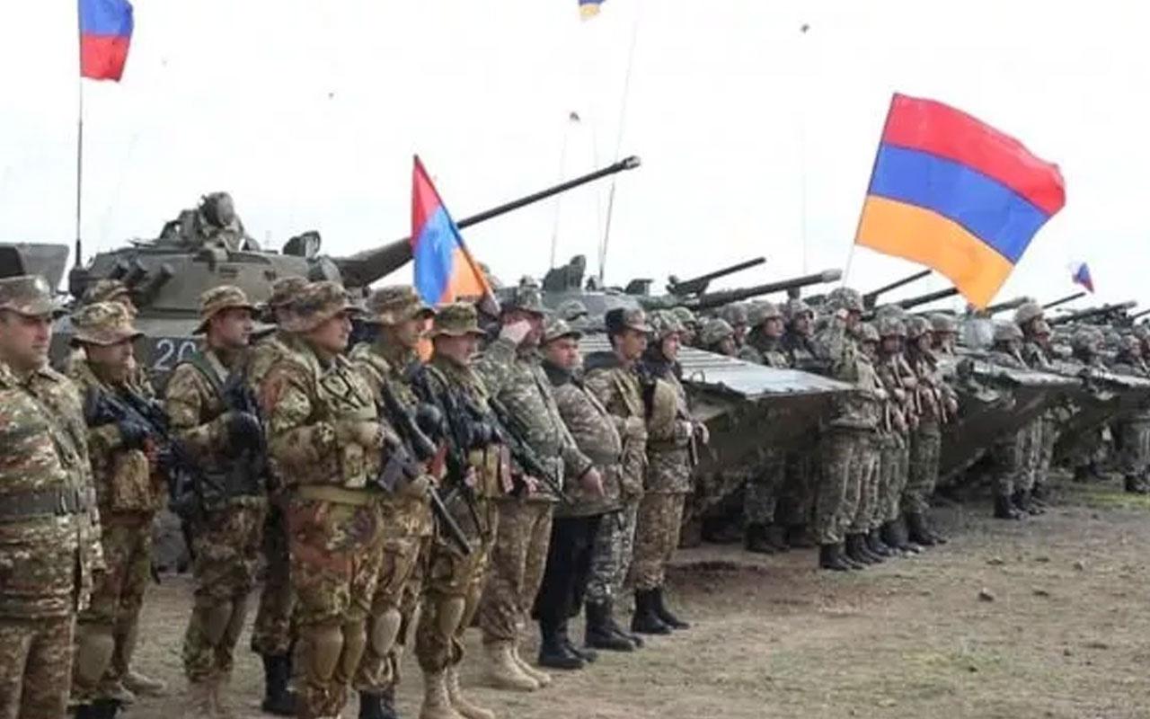 Muhtıra sonrası Ermenistan ordusundan tatbikat kararı