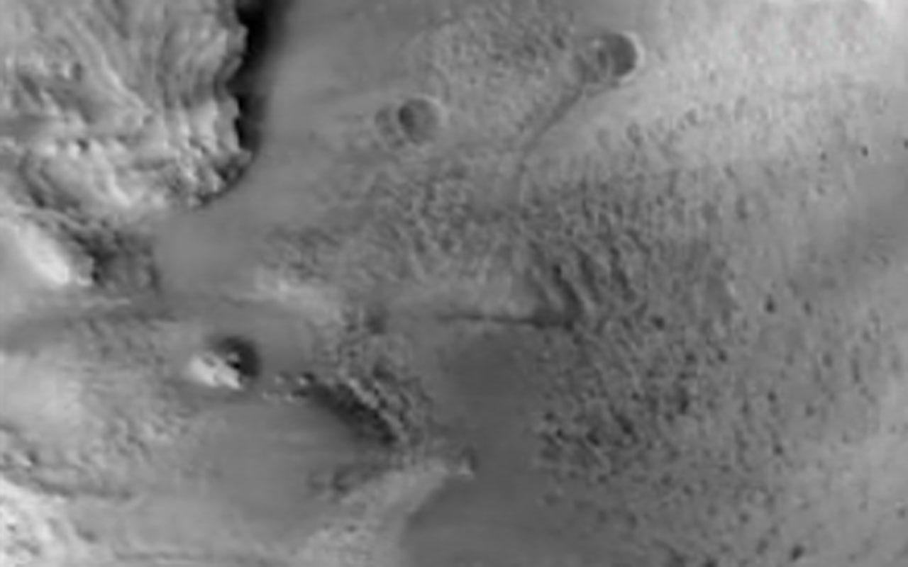 NASA Perseverance aracının iniş anına ilişkin yeni görüntü yayınladı
