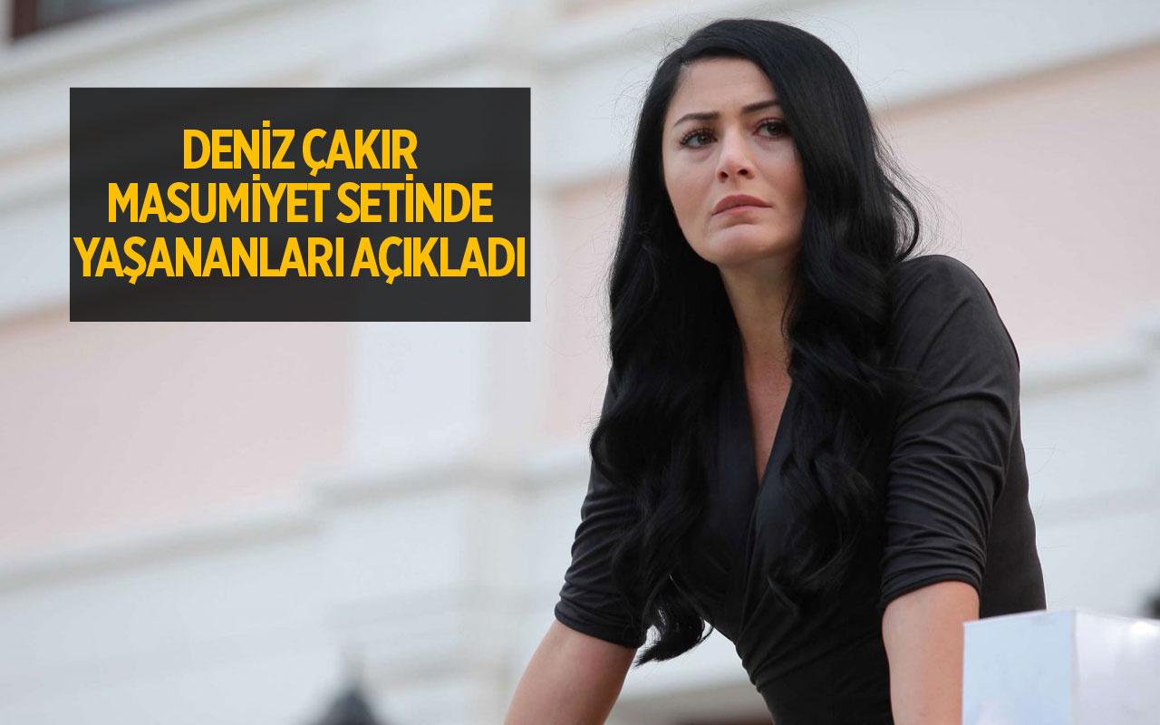 Masumiyet dizi setinde küfürler savurduğu iddia edilen Deniz Çakır olayı açıkladı