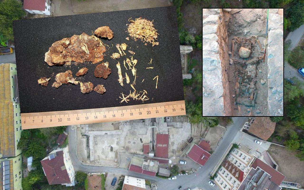Sinop'ta büyük arkeolojik keşif Hz. İsa'yı bekleyen iki piskoposun mezarı açıldı