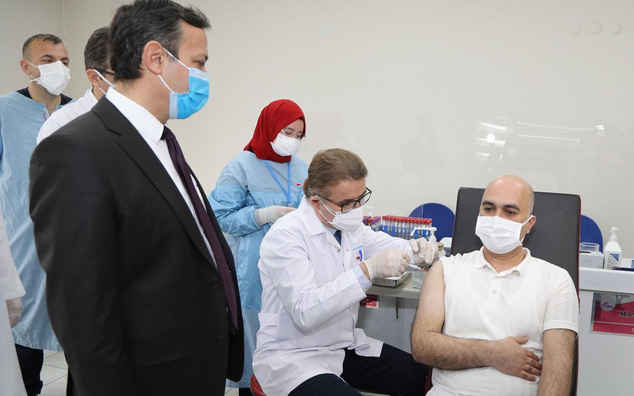 Yerli aşıda haber var faz-2 çalışması ilk sonuçlarını Prof. Dr. Mustafa Çalış açıkladı