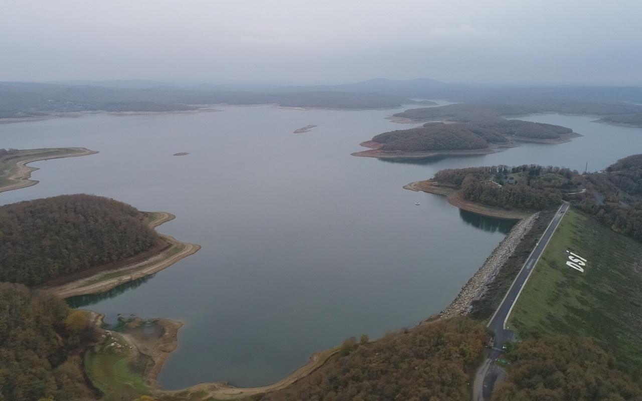 İstanbul'un barajlarındaki doluluk oranı bakın ne kadar