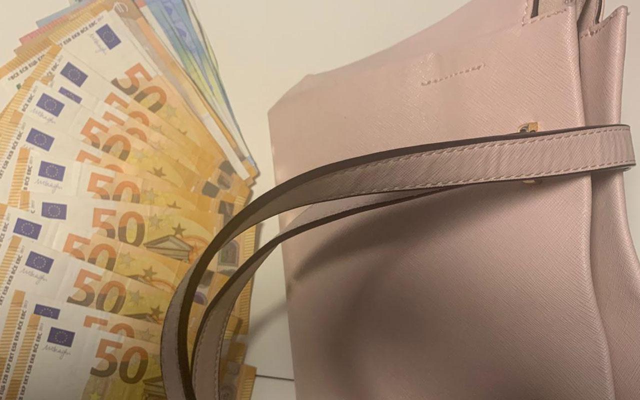 Almanya'da 23 bin 400 euroyu sütyenine gizleyen Türk yolcu şaşırttı