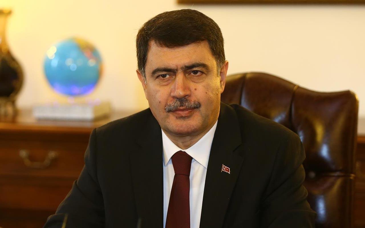 Ankara Valisi Sakarya'da hastaneye kaldırıldı Vali Vasip Şahin'in son durumu