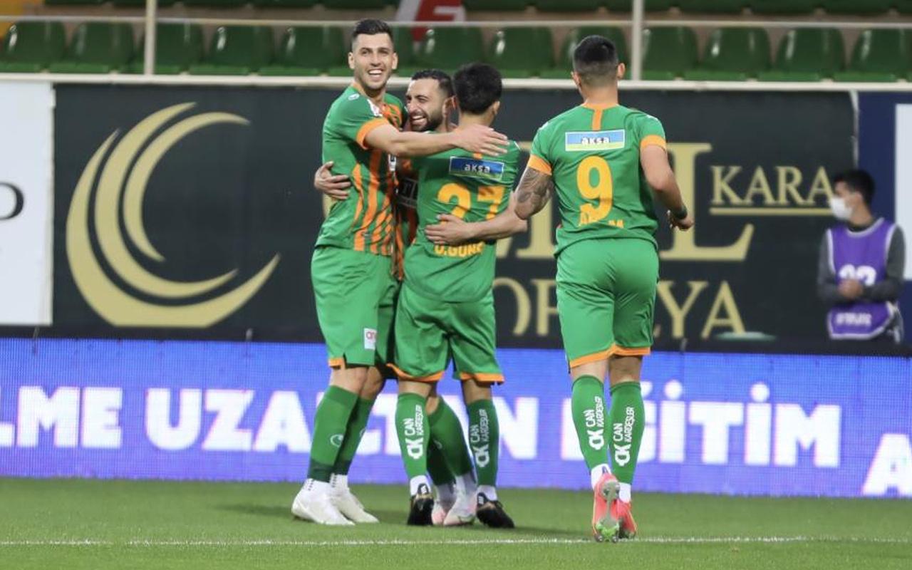 Antalyaspor'un 13 maçlık serisi Akdeniz derbisinde sonlandı