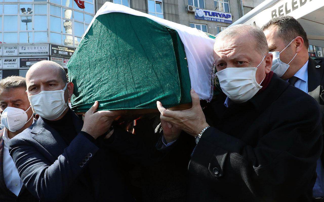 İçişleri Bakanı Soylu'nun annesi Servet Soylu, son yolculuğuna uğurlandı