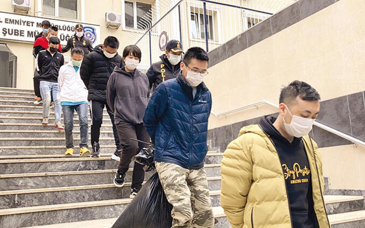İstanbul'da Çin işi vurgun! Onbinlerce kilometre uzaktan gelip çağrı merkezi kurmuşlar