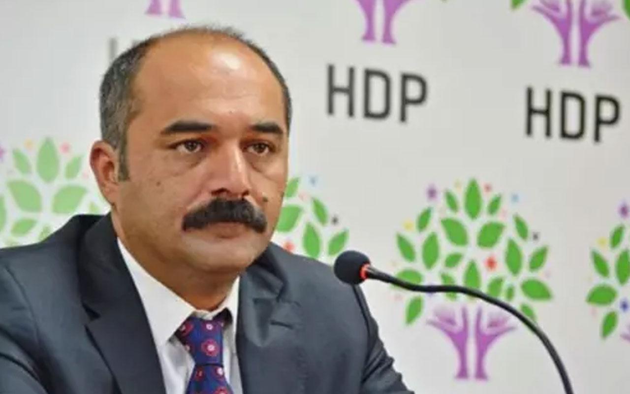 HDP Ağrı Milletvekili Berdan Öztürk hakkında soruşturma başlatıldı