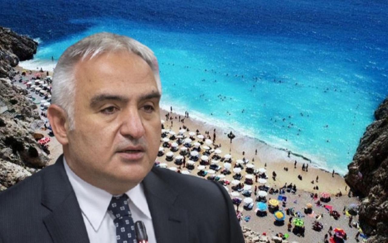 Turizm Bakanı Mehmet Ersoy'dan turistlerle ilgili önemli PCR testi açıklaması