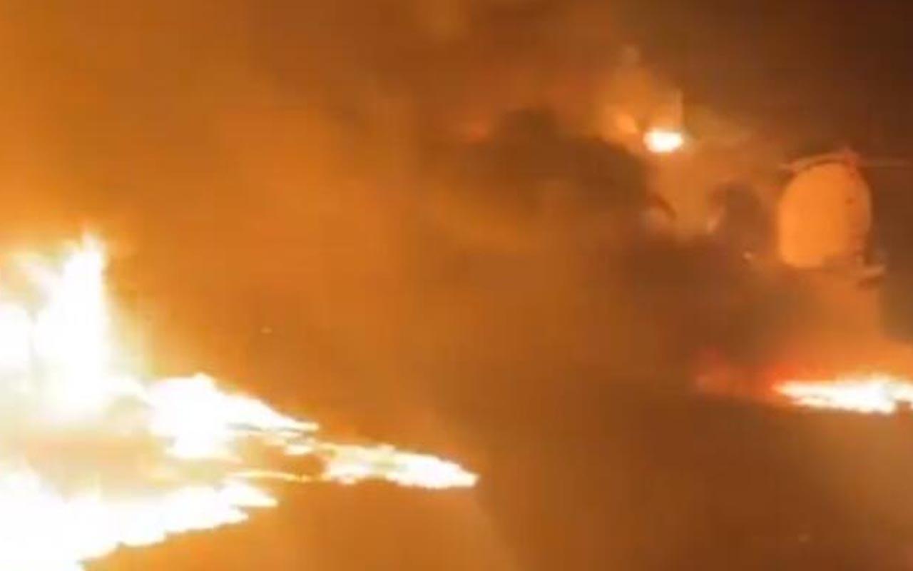 Suriye'de Fırat Kalkanı bölgesinde sivil yerlere rejimden füze saldırısı