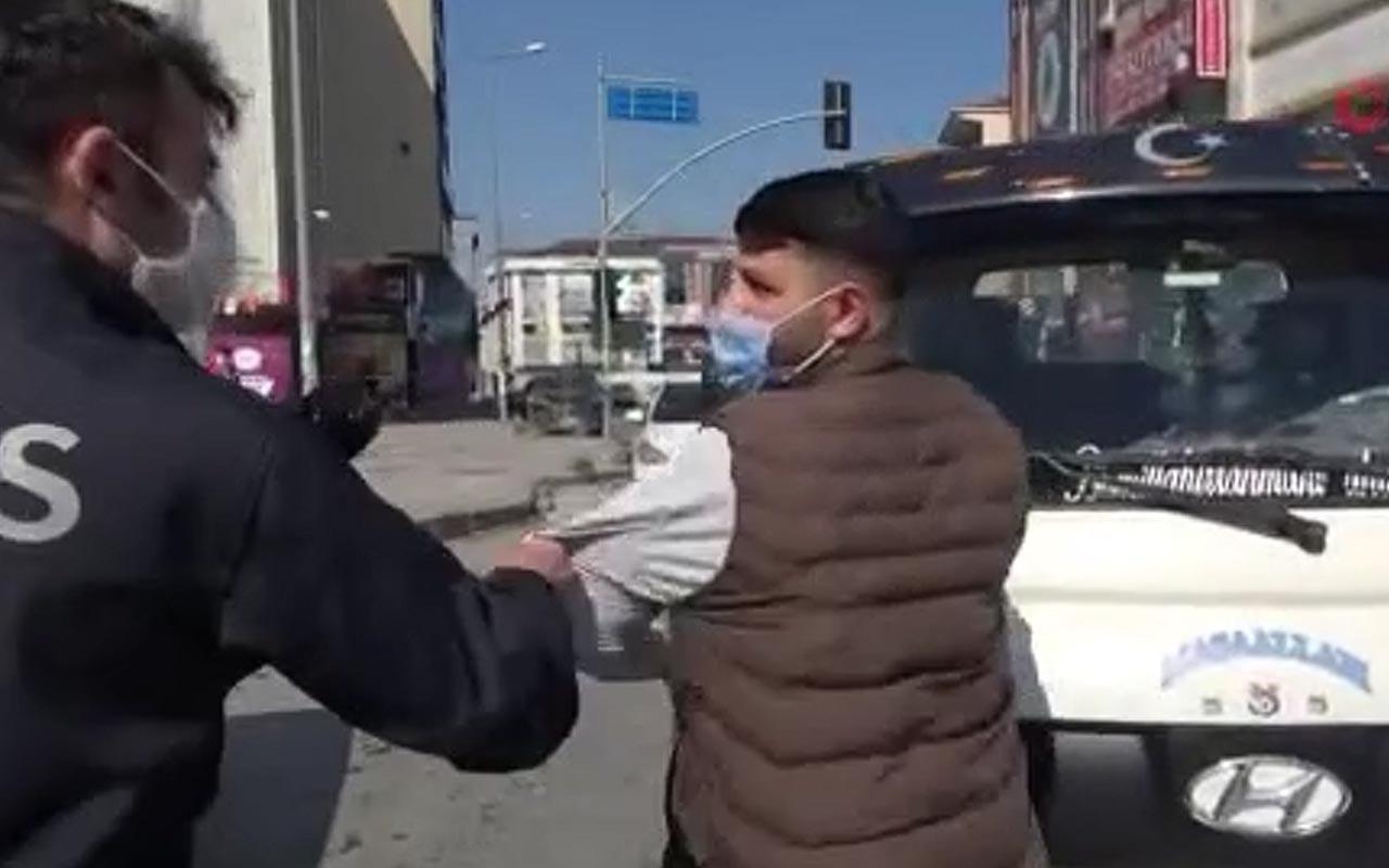 'Ben böyle devletin' deyince sinirler gerildi! Arnavutköy'deki patavatsız