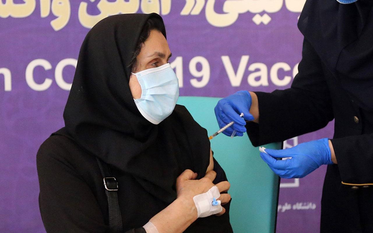 İran'da yerli aşının insanlar üzerindeki 3. aşama klinik denemesine geçildi