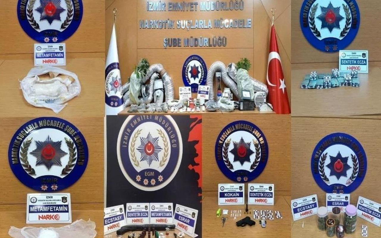 İzmir'de ardı ardına uyuşturucu baskınları: 29 kişi tutuklandı