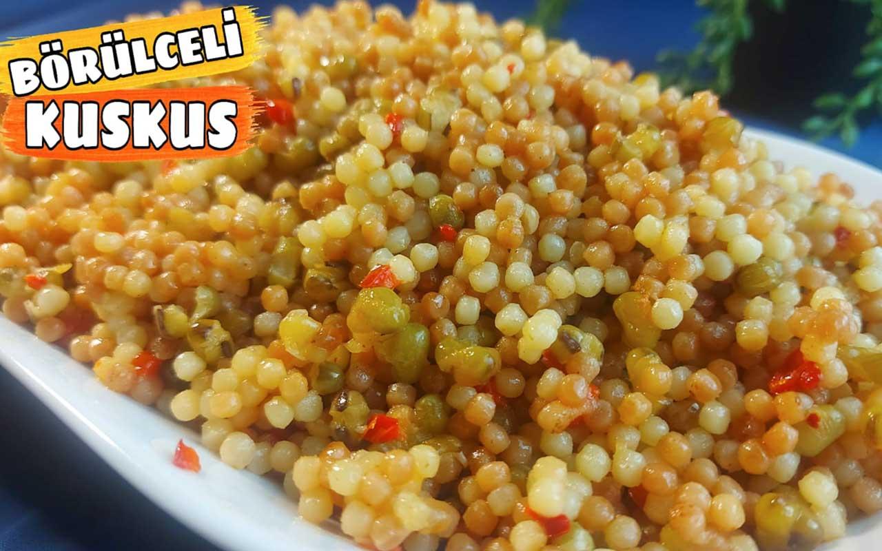 Kuskus pilavı nasıl yapılır bu hafif lezzete bayılacaksınız!