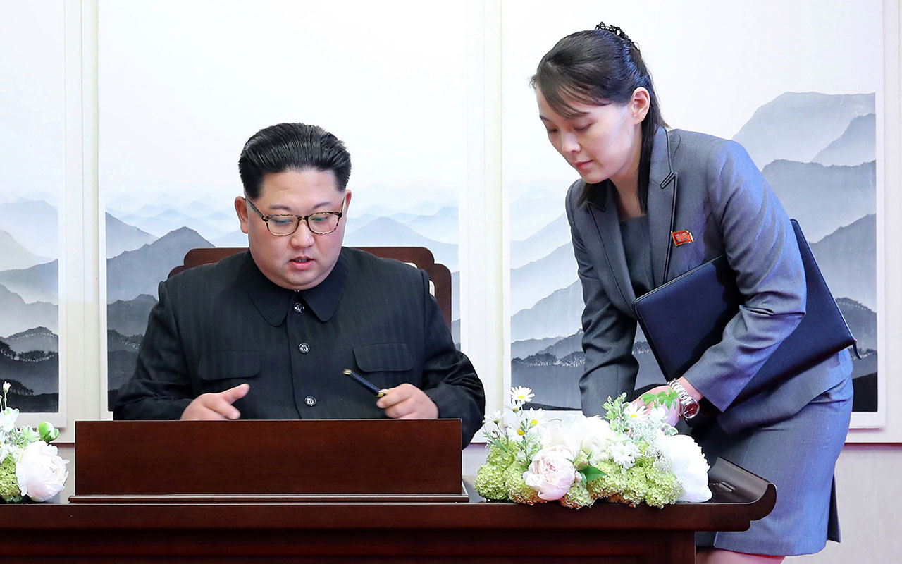 Kim Jong-un sustu kız kardeşi ABD'ye çaktı! '4 yıl huzur içinde uyumak istiyorsanız bela çıkarmayın