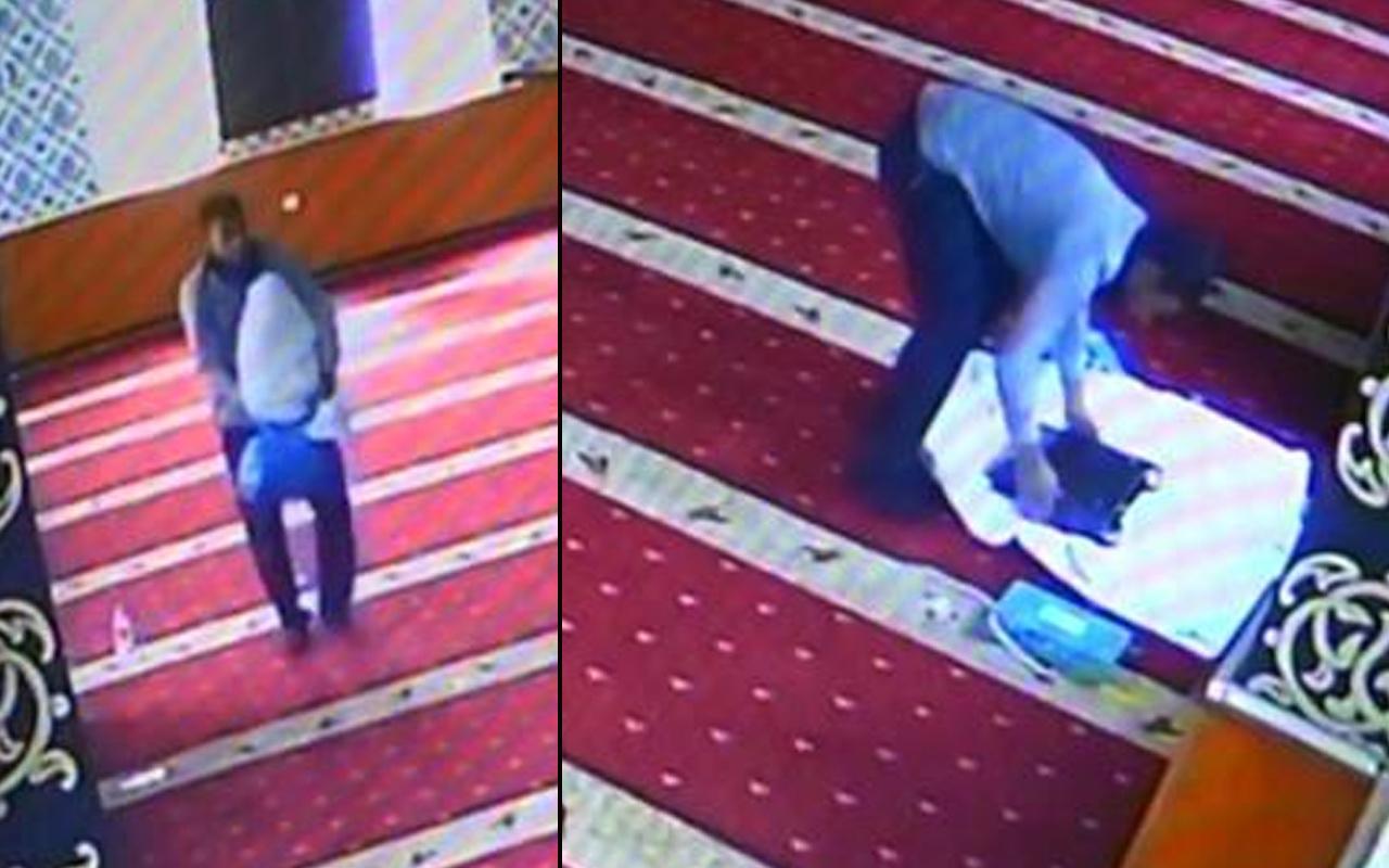 Böyle hırsızlık görülmedi! Diyarbakır'da camide pes dedirten görüntü