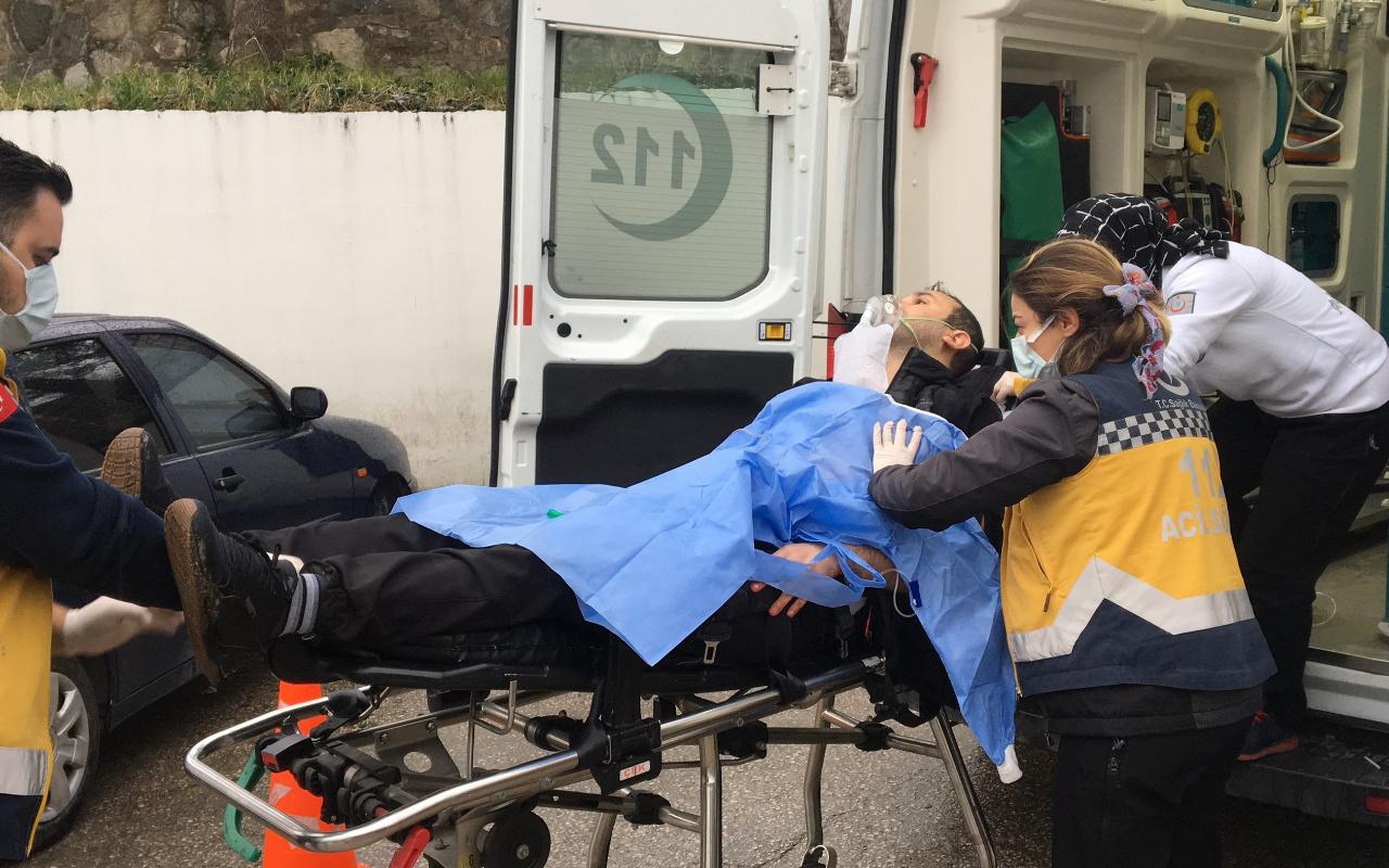 Bursa'da yarım saat içerisinde üç kişiyi bıçakla yaralayan şüpheli yakalandı