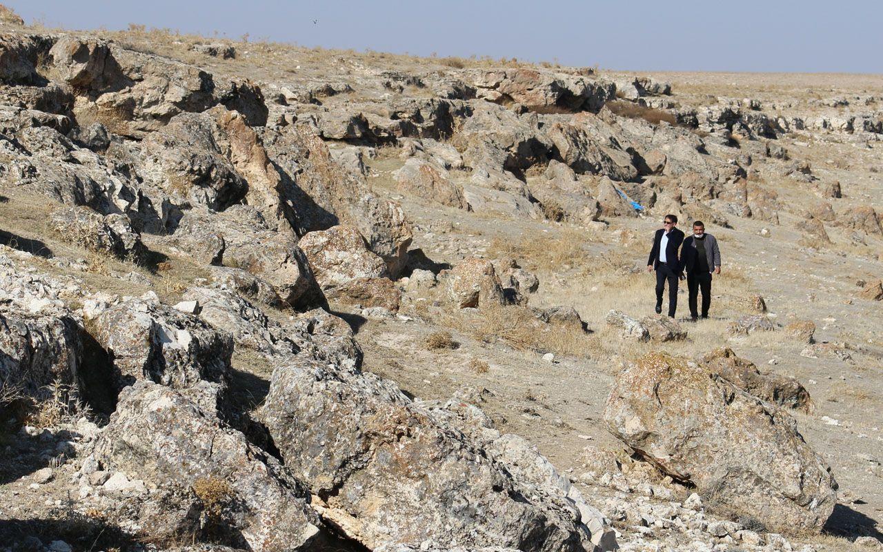 Aksaray Erdoğdu'daki arkeolojik 8 katlı 40 odalı gizemli yer altı şehri!