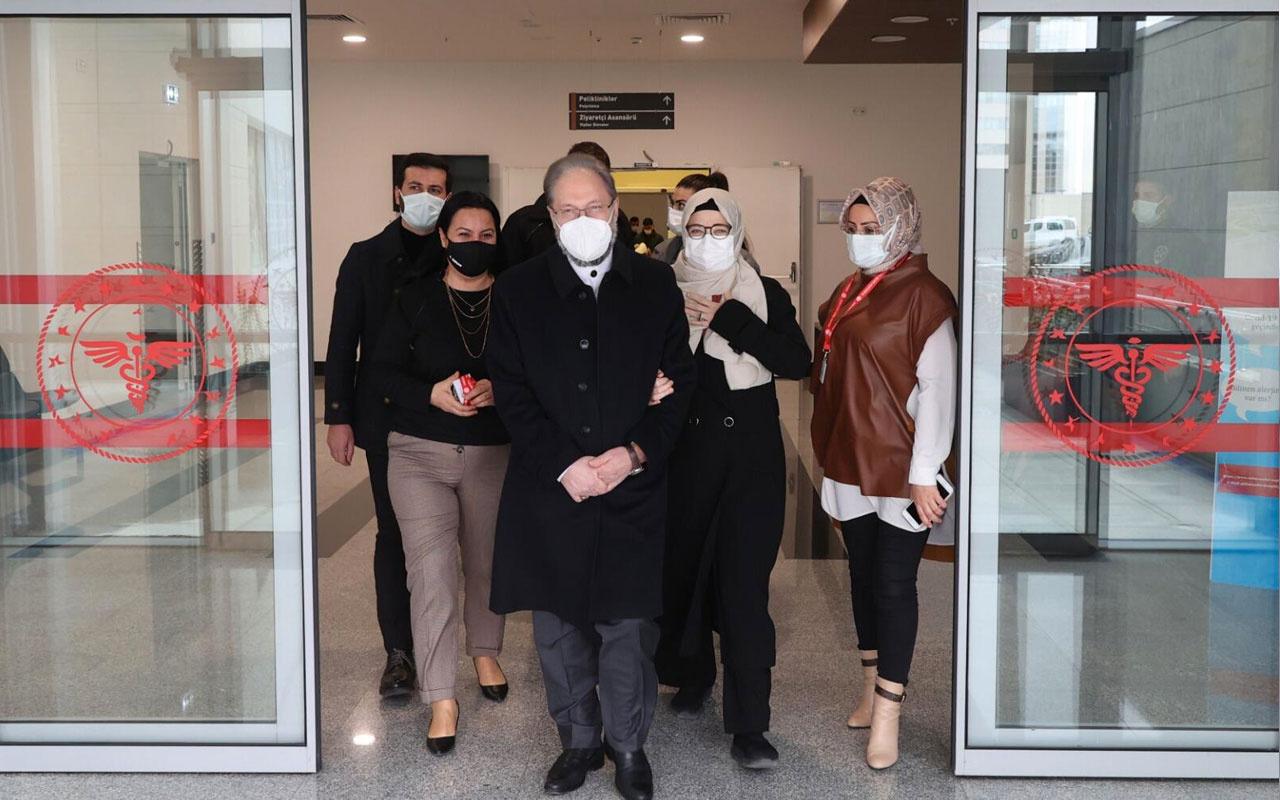 Diyanet İşleri Başkanı Prof. Dr. Ali Erbaş, taburcu oldu koronavirüse yakalanmıştı