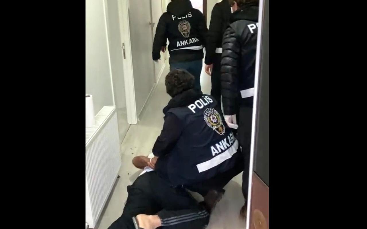 Ankara'da fuhuş operasyonu: 7 gözaltı