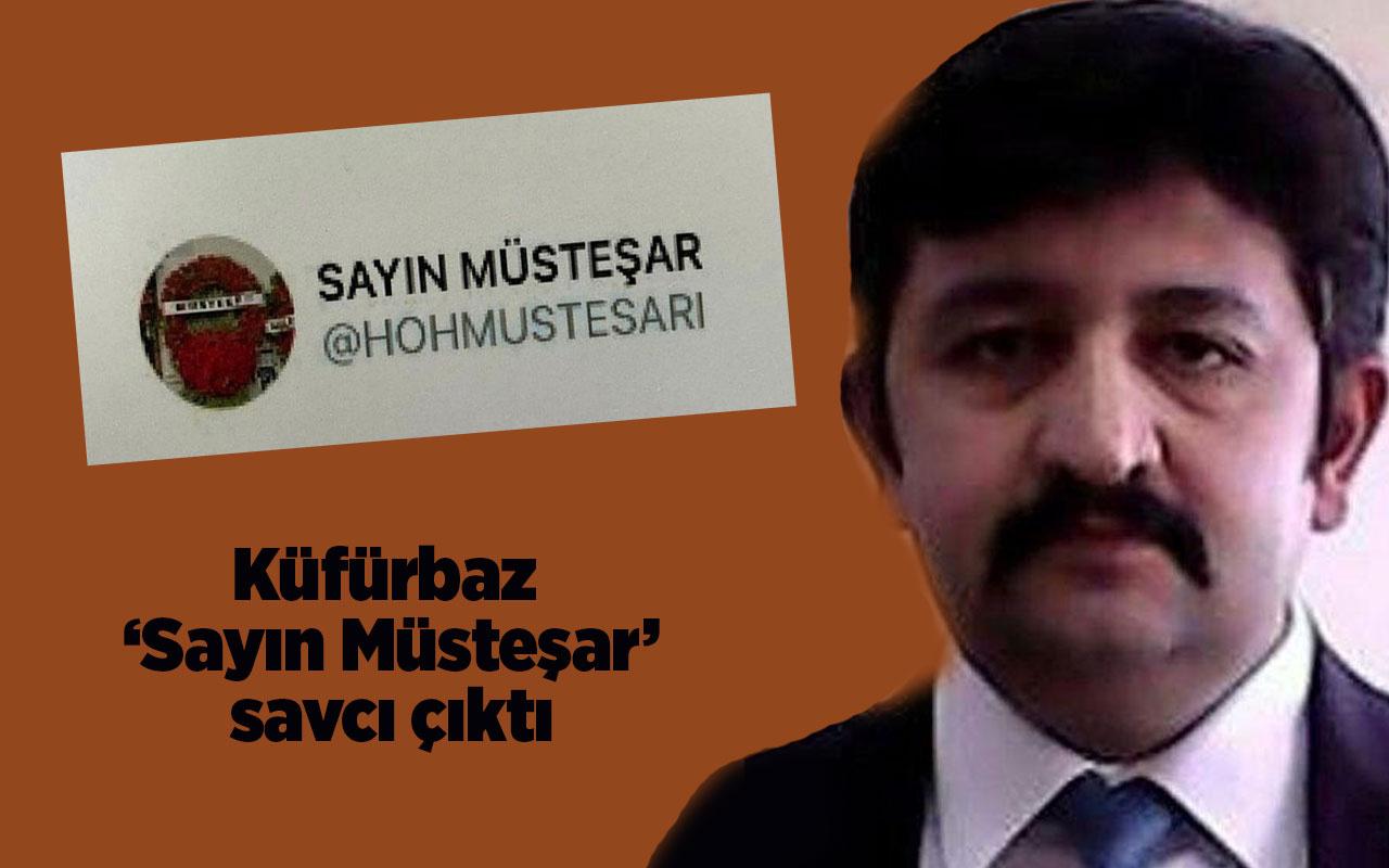 Küfürbaz 'Sayın Müşteşar' trolü Cumhuriyet Savcısı Özkan Muhammed Gündüz çıktı!