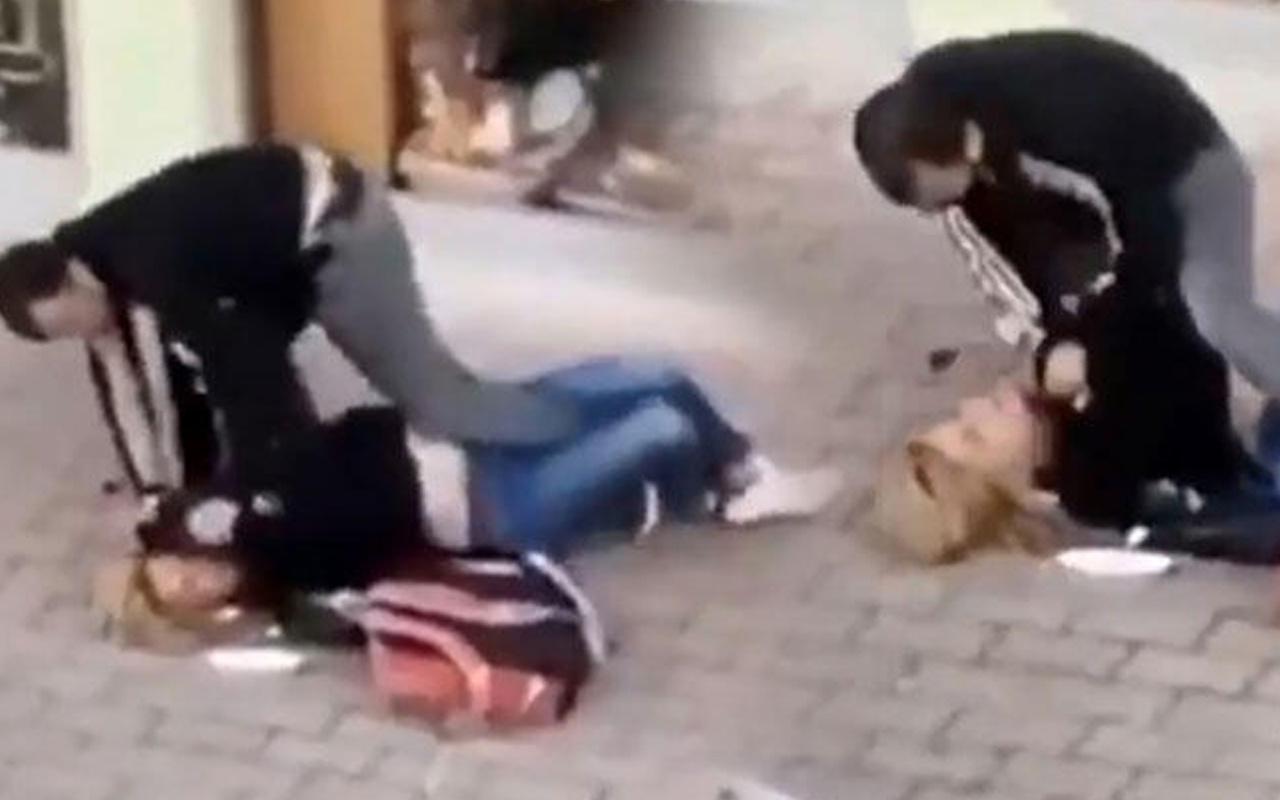 Antalya'da sokak ortasında acımasızca dövdü! Herkesin gözü önünde yaşandı