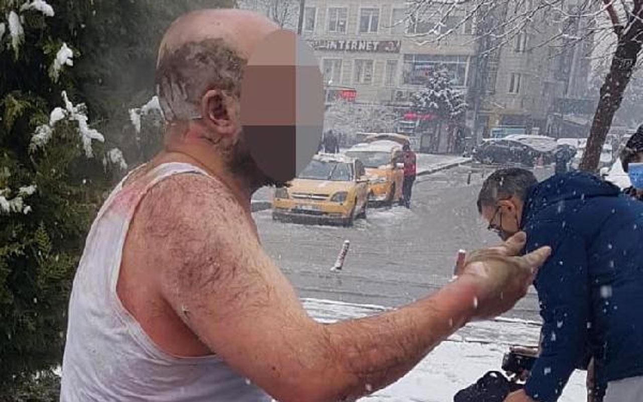 Kayseri'de ailesiyle tartışan kepçe operatörü kendini yaktı