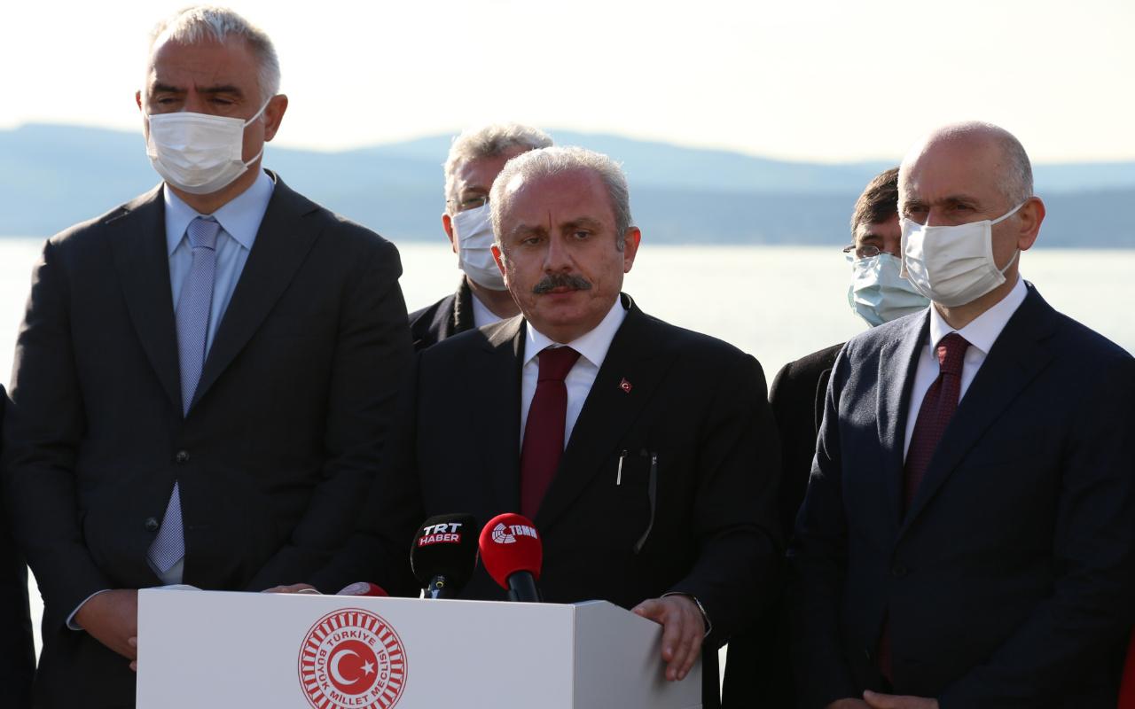 TBMM Başkanı Mustafa Şentop'tan dikkat çeken HDP açıklaması