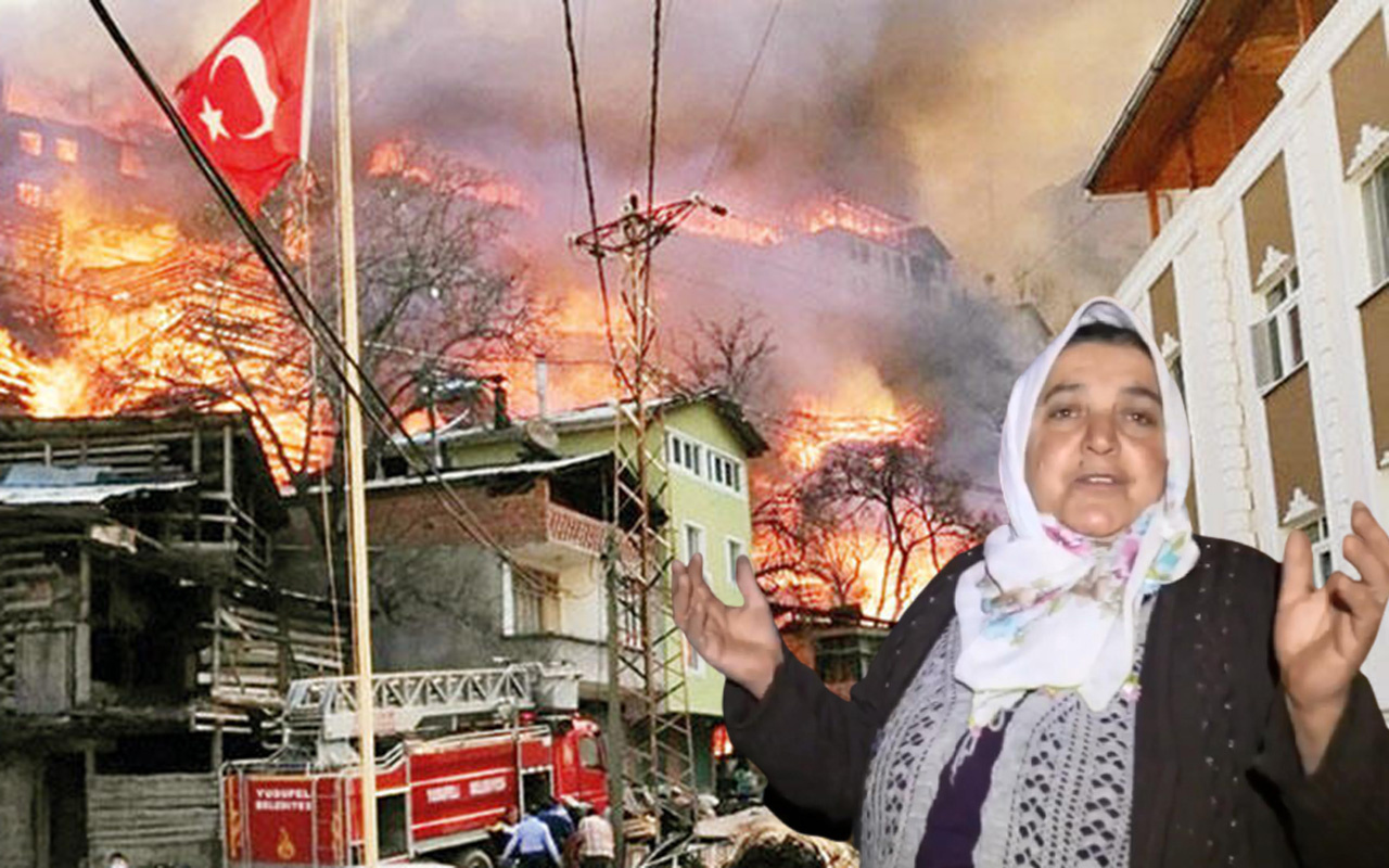 O köy 25 yılda 3 kez yandı! Artvin'in Dereiçi köyündeki yangının bilançosu: 60 ev 30 hayvan...