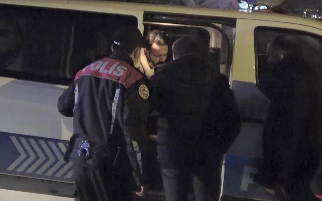 Karabükte alkollü sürücü önce kaçtı, yakalanınca polisten helallik istedi