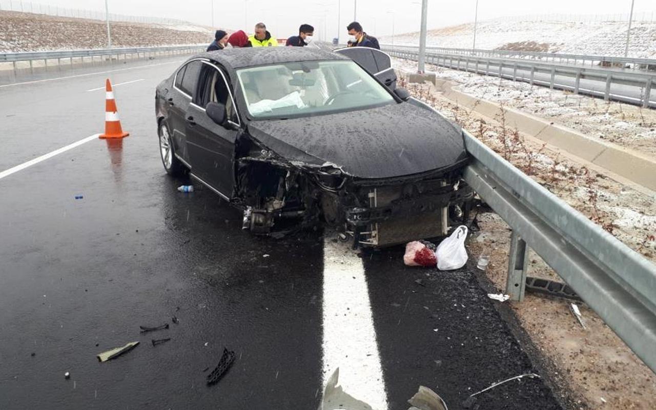 Mersin'den MHP kurultayına gidiyordu! Eski Başkan Şevket Can kaza yaptı