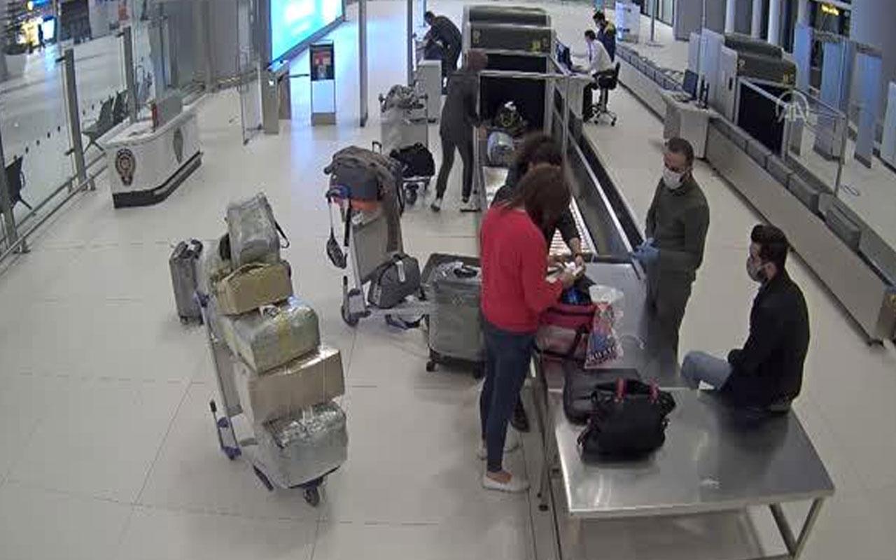 İstanbul Havalimanı'nda yakalandı! Kovid-19 tedavisinde kullanılan ilaç valizinden çıktı
