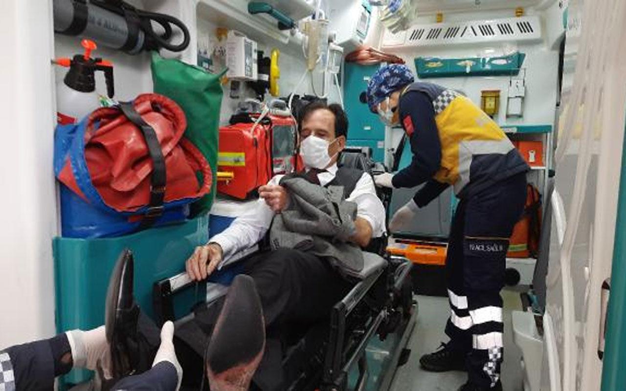 Olay yeri Kocaeli! Durak dışında otobüsü binmek isteyen kişi kendisini uyaran şoförü dövdü