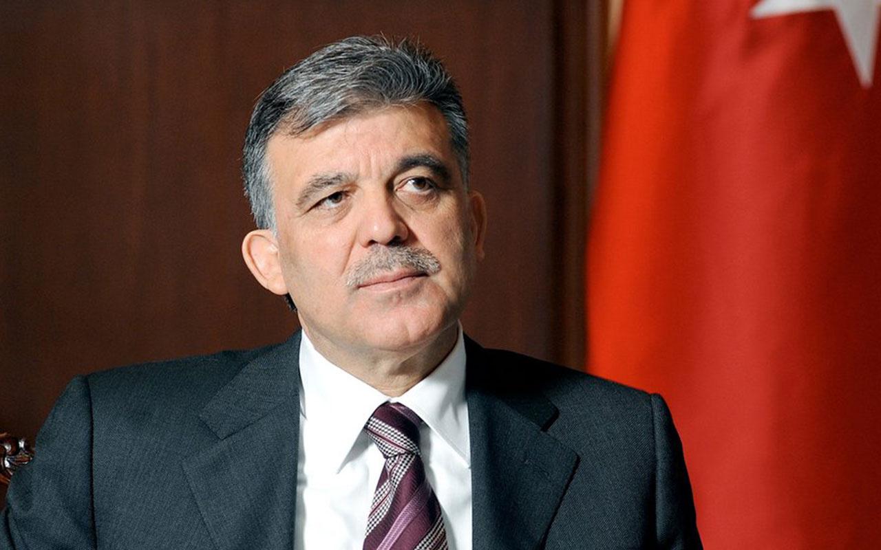 Abdullah Gül: HDP'ye kapatma davası da Gergerlioğlu'nun vekilliğinin düşürülmesi de çok yanlış