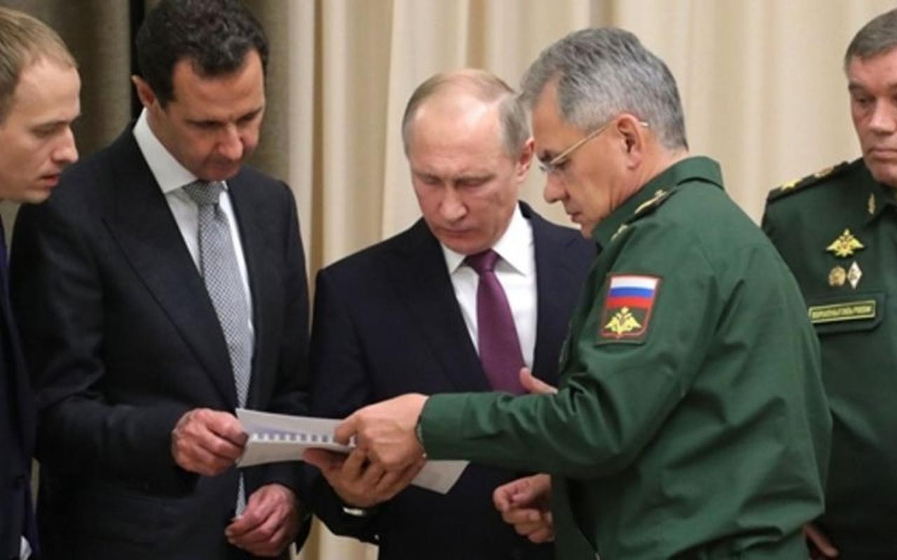Esed rejimi ve Rusya arasında Akdeniz anlaşması