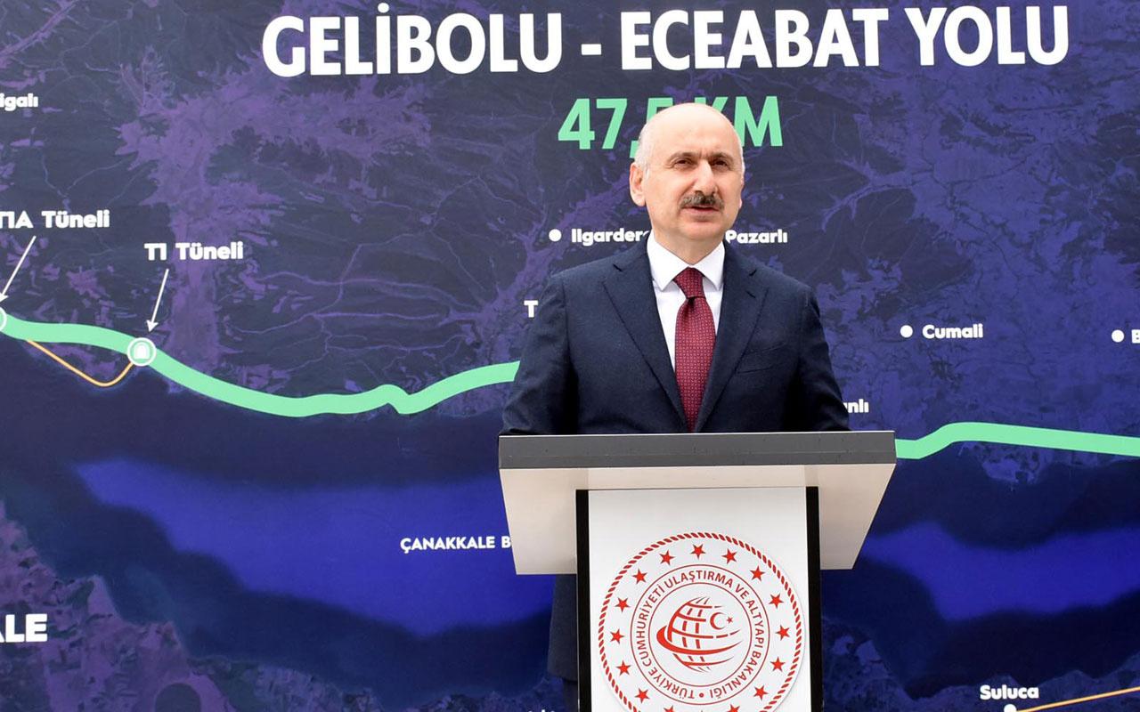 Bakan Adil Karaismailoğlu: Ulaştırma, haberleşme altyapısı için 1 trilyon lira yatırım yapıldı