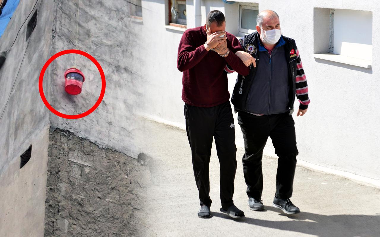 Pes dedirten olay! Adana'da kova sarkıtıp satış yaptı yakalanınca yüzünü gizledi