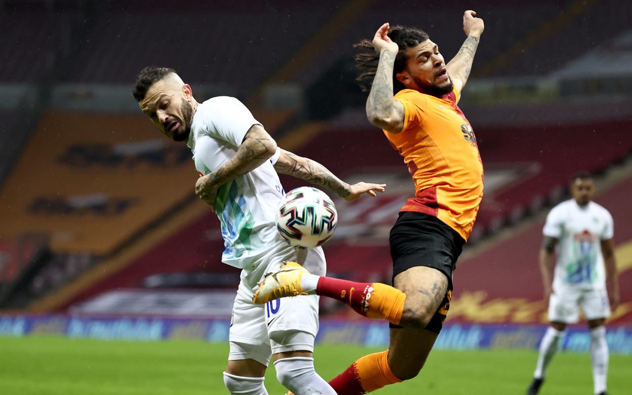 Galatasaray Çaykur Rizespor maçı golleri ve geniş özeti