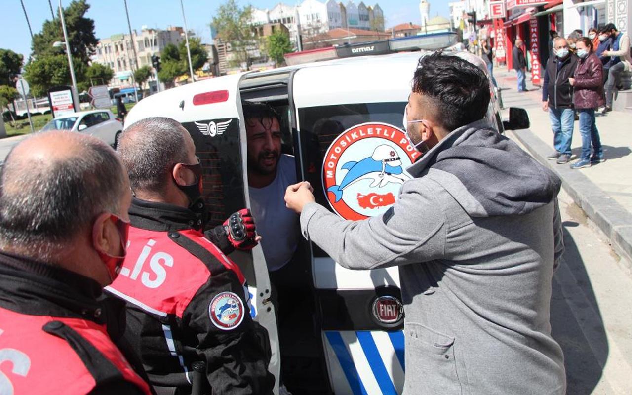 Antalya'da arızalı telefon kavgasına polisi tehdit etti! 'Bunun hesabı kesilecek'