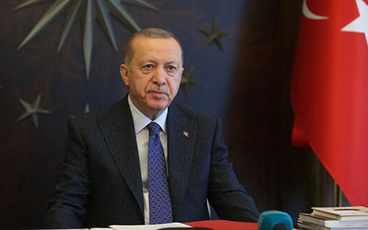 Erdoğan, AB Komisyonu Başkanı ve AB Konseyi Başkanı'yla görüştü